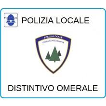 Distintivi Di Specialità Omerali Polizia Locale Vigilanza Boschiva Art.NSD-PLVB