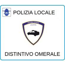 Distintivi Di Specialità Omerali Polizia Locale Volante Art.NSD-PLV