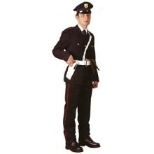 Pantalone Pantaloni con Righina Colorata Modello Militare per Istituti di Vigilanza Estivi Art.FAV-GG-PANT