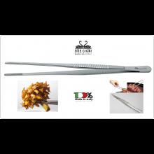 Pinza Professionale Cuoco Chef  per Friggere per Griglia per Piastra Prodotto Italiano Due Cigni Art.2C768