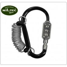 Lucchetto a Combinazione per Zaino o Casco Moto Bichers MIL-TEC Art.15925000