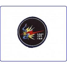 Patch Toppa Ricamata  101° CBR Aeronautica Militare Art.EU099