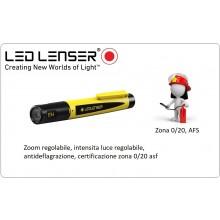 Torcia Professionale Anti deflagrazione Vigili del Fuoco  EX4 Zona 0/20, AFS 50lm LED LENSER NEW Art.EX4