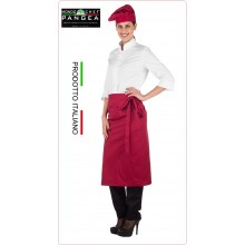 Falda Grembiule Vita Scozia Colore Rubino Pangea Italia Art.SC0500