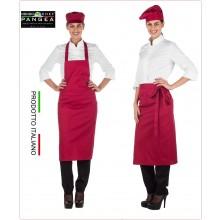 Falda Grembiule Vita + Pettorina 2 in 1 Portogallo Colore Rubino Pangea Italia Art.PO0500