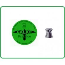 Piombini per Aria Compressa Falke Diabolo Verde Piatti cal. 4,5 peso 0,56 500 Art.CN141113