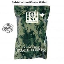 Salviette Umidificate Militari Confezione 25 Salviette INC 101 Art.469430