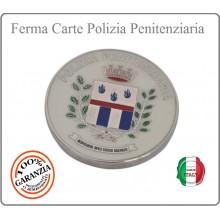 Fermacarte Ferma Carte Araldico Polizia Penitenziaria Scrivania Ufficio Idea Regalo Art.PP4