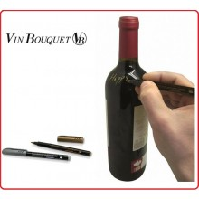 Pennarelli Indelebili per Bottiglie di Vino 2 pezzi 1 Oro 1 Argento Vin Bouquet VB Art.FIA023