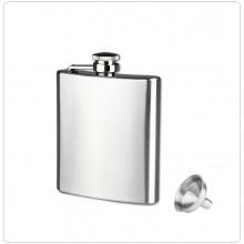 Elegantissma Fiaschetta da Tasca Porta Liquori o Whisky 8 oz Art.W-1