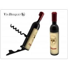 Cavatappi Professionale a Forma di Bottiglia di Vino Idea Regalo Art.FID313