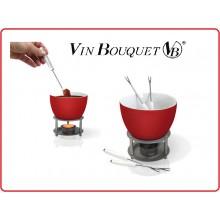 Fonduta Cioccolata Calda ecc Set Vin Bouquet Art.FIH022
