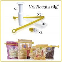Salva Freschezza Sottovuoto Manuale Professionale Vin Bouquet Art.FIH054