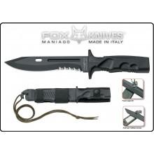 Coltello Lama Fissa FOX Leonida Militare Combat FX-0171107 Art. FX0171108