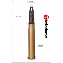 Dummy Cartridge 88 mm AP HEAD Technoframes Art.TFR6G-088AP-HEAD