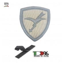 Scudetto Patch Toppa Ricamata a Macchina con Velcro Omerale Paracadutisti Folgore Bassa Visibilità  Art. OME-1