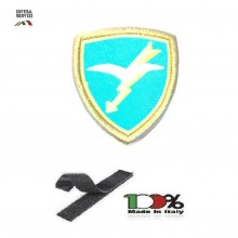 Scudetto Patch Toppa Ricamata a Macchina con Velcro Omerale Folgore Paracadutisti Art. OME-8