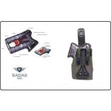 Fondina Professionale in Microfibra  per Pistola Autodifesa Spray Piexon Angel I e II Radar 1957 Italia Art.5074-3612