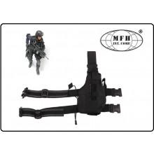 Fondina per Pistola Cosciale Universale Cordura 1000D  Modello NATO MFH Militare Polizia Carabinieri Vigilanza  Art.30715A