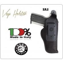 Fondina da Cintura Interna ed Esterna Professionale Borghese Polizia Carabinieri Guardia di Finanza Cordura Vega Holster Italia Art.IA260