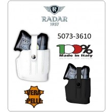 Fondina Professionale per Pistola Spray Autodifesa Piexon in Cuoio per Angel I , II , III Radar 1957 Italia Art.5073-3610