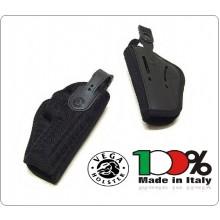 Fondina da Cintura in Cordura Nera Professionale  Vega Holster Italia Art.FT2