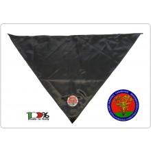 Foulard Sciarpa Triangolo con Ricamo Carabinieri Unità Tutela Forestale Ambientalee Agroalimentare Novità Art.NSD-CC+F