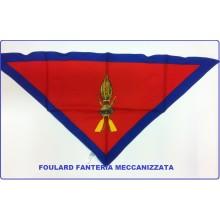 Foulard Fazzoletto Triangolo Fanteria Meccanizzata Art.FAV-F11
