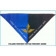 Foulard Fazzoletto Triangolo Fervent Rotae Fervent Animi Art.FAV-F13