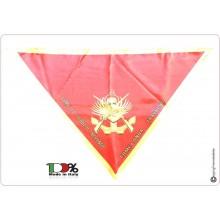 Foulard Sciarpa Triangolo Battaglione San Marco Lagunari Marina Militare COME LO SCOGLIO INFRANGO COME L'ONDA TRAVOLGO Italiana Modello Nuovo Ufficiale Art.NSD-LAG-N