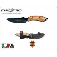 Coltello Lama Fissa European Hunter knife 1502 Fox Maniago Italia Caccia Combattimento Fodero Cuoio Incluso  Art. 1502