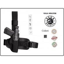 Fondina Cosciale in Cordura Termoformata Vega Holster Italia Carabinieri Polizia Vigilanza Art.FPA2