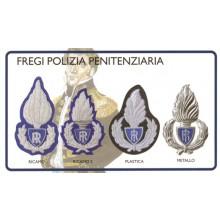 Fregio Berretto Polizia Penitenziaria Ricamati a Mano Decidi il modello Art.FAV-F-GALA-PP