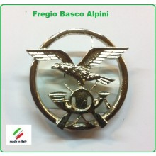 Fregio Basco Militare Metallo Alpini Esercito Italiano Art.NSD-F-48