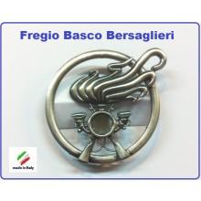 Fregio Basco Metallo Bersaglieri E.I. Esercito Italiano Art.NSD-BERS