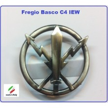 Fregio Basco Metallo CV IEW E.I. Esercito Italiano Art.NSD-F-26