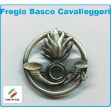 Fregio Basco Metallo Cavalleggeri  E.I. Esercito Italiano Art.NSD-F-19