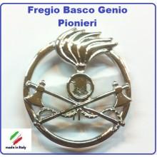 Fregio Basco Militare Metallo Genio Pionieri  Esercito Italiano Art.NSD-F-45
