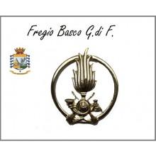 Fregio Basco Metallo Guardia Di Finanza Art.NSD-GDF-1