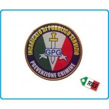 Fregio Basco Guardia Particolare Giurata GPG IPS Prevenzione Crimine Art.NSD-GPGIPS-PC