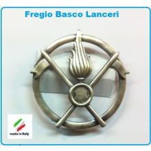 Fregio Basco Metallo Cavalleria Lanceri E.I. Esercito Italiano Art.NSD-F-14