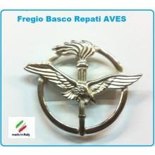Fregio Basco Metallo Reparti AVES Aeronautica Militare  Art.NSD-F-31