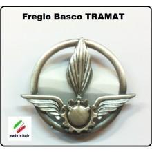 Fregio Basco MetalloTramat E.I. Esercito Italiano Art.NSD-F-15