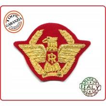 Fregio Canuttiglia per Berretto Generale Oro  Polizia Carabinieri Esercito Guardia di Finanza Art.NSD-GEN-O