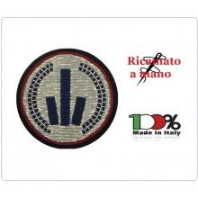 Fregio Polizia Locale Canuttiglia Ufficiali Emilia Romagna Art.NSD-ERU