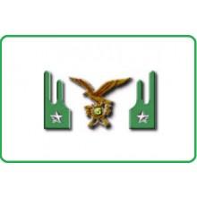 Mostrine Alamari Giacca o Camicia Esercito Italiano Alpini Art.NSD-A-AL