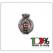 Fregio Basco Metallo Crocerossine Corpo Croce Rossa Italiana  Art.NSD-F-28