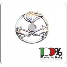 Fregio Basco Metallo Genio Pionieri  E.I. Esercito Italiano Art.NSD-F-22