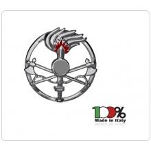 Fregio Basco Metallo Genio Guastatori  E.I. Esercito Italiano Art.NSD-F-12