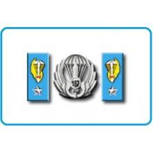 Mostrine Alamari Giacca o Camicia Esercito Italiano Paracadutisti Art.NSD-A-PARA